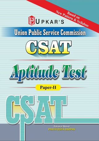 CSATCivil Services Preliminary Exam  Aptitude Test (PaperII