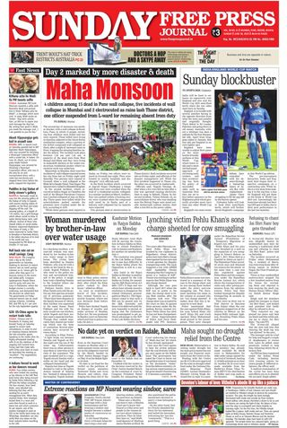 The Free Press Journal - Mumbai Magazine June 30, 2019 issue