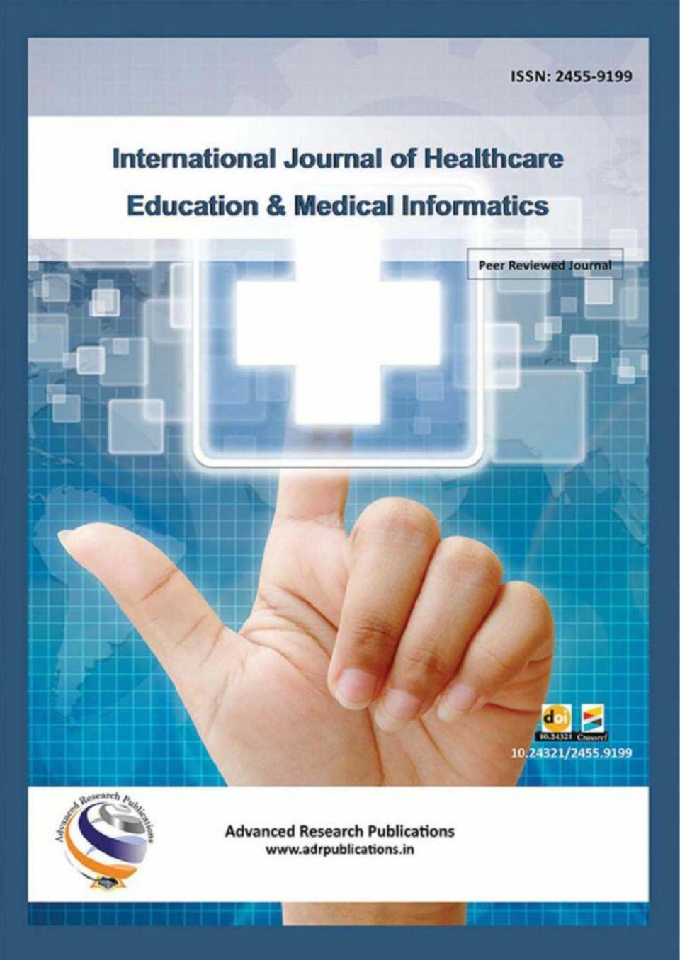 International Journal of Healthcare Education & Medical ...