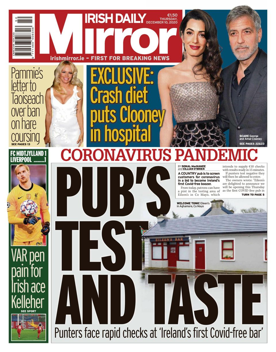 Get your digital copy of Irish Daily Mirror December 10, 10 issue