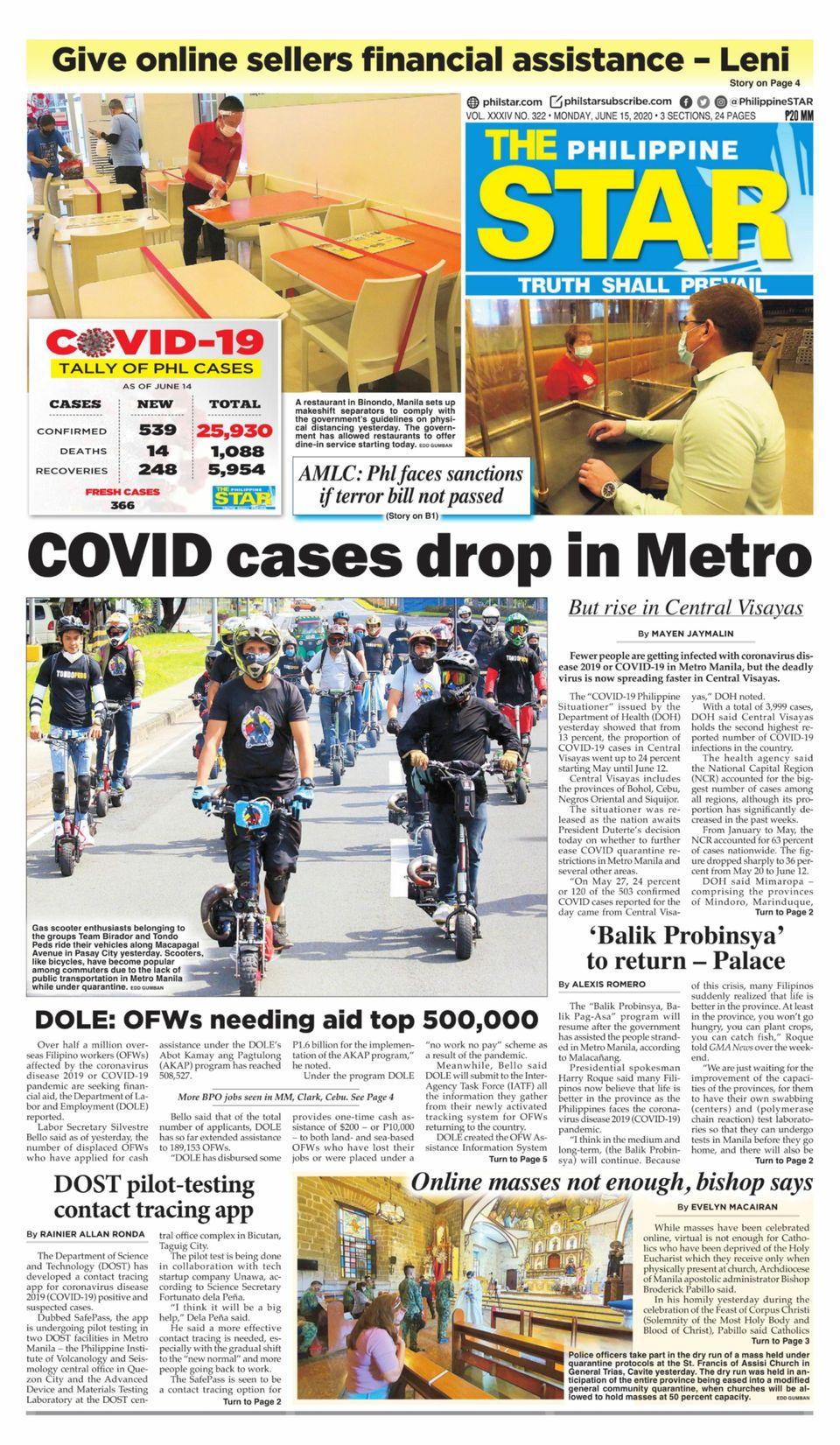 Star philippine daily Philippines' ex