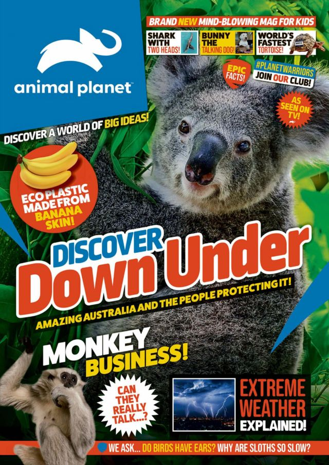 Animal Planet joins Magzter GOLD - The Unlimited Reading Subscription Image