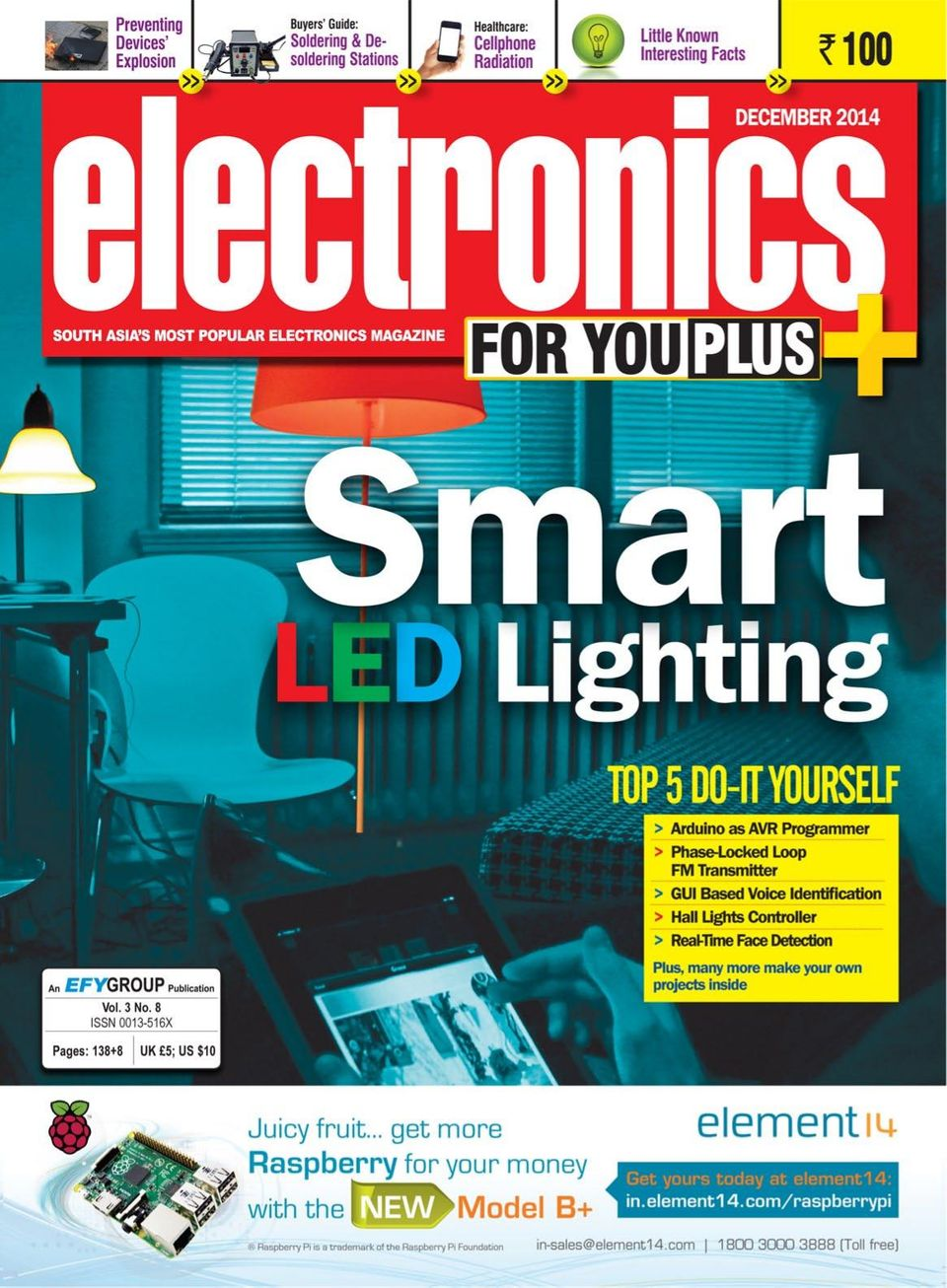 Electronics For You-December 2014 Magazine - Get your Digital Subscription