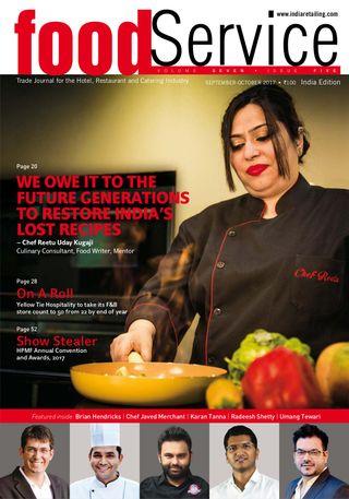 foodService India Magazine September - October 2017 issue